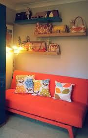 Orange Sofa Bed by Yoko Sofa Bed Woodland Brown Made Com
