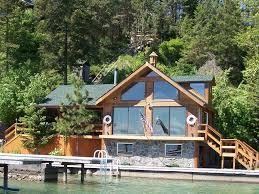 Boat House Romantic Somers Bay Boathouse W Dock Homeaway Flathead Lake