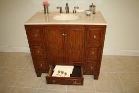 aber 48 inch traditional bathroom vanity brown marble top