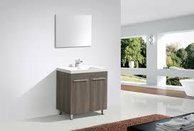 aquamoon ocean 31 1 4 maple grey modern bathroom vanity modern