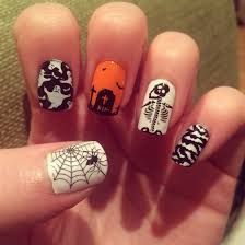 halloween nails moyou festive plate nails pinterest