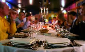 hosting a sophisticated dinner party