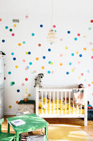 laid back family life in the australian countryside design sponge image above we wanted syd s room to feel really happy and bright the colored spots are an afternoon project he helped with the little beehive lamp is a