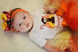 Thanksgiving Dress Baby My Thanksgiving Tutu Set My Birthday Tutu Set My