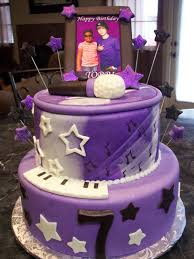mymonicakes justin bieber picture frame cake