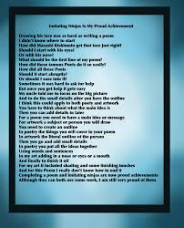 freestyle 2014 junior personal poems
