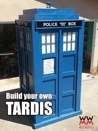 build a tardis replica tardis craft and fandom