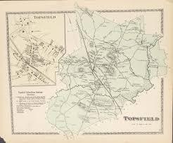 Ma Map Topsfield Ma