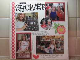 Wedding Scrapbook Page 29 Best Bridal Shower Scrapbook Pages Images On Pinterest Bridal