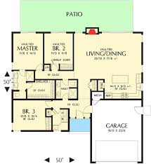 Modern House Plans With Photos Plan 69637am Modern House Plan With Vaulted Ceilings And Transoms