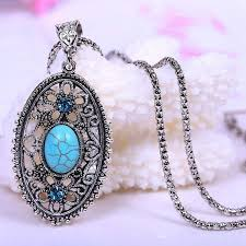 pendant necklace turquoise images Glow in the dark pendant necklace round fairy locket treasure fan jpg