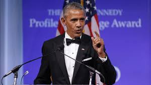 barack obama accepts jfk profile in courage award youtube