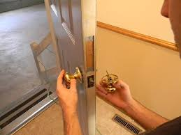 Replace Interior Door Knob To Replace A Door Knob With Your Own