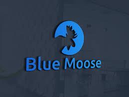 blue moose wedding band serious masculine logo design for bobby o hara by sonym design