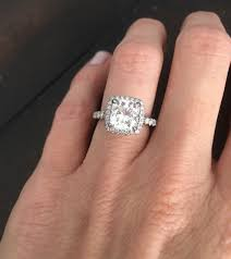 real diamond engagement rings real world trishelle cannatella s diamond engagement ring