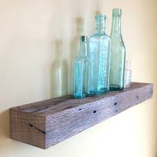 Barn Wood Floating Shelves by 24