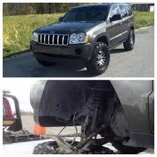 raised jeep grand cherokee jeep grand cherokee wk uca