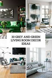 Living Room With Grey Walls by
