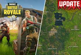 map new map fortnite battle royale update new map details revealed as