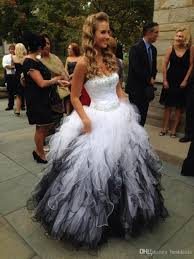 black and white quinceanera dresses white and black quinceanera dresses lovely sweetheart the