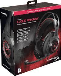 best black friday deals ps4 headset hyperx cloud revolver gaming headset for pc u0026 ps4 black hx hscr bk