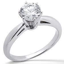 engagement rings atlanta 14k white gold solitaire engagement ring cjser108 mallca