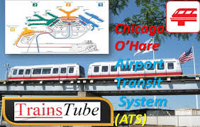 Chicago Ord Terminal Map by Chicago O U0027hare Airport Transit System Ats Ord Terminal Train