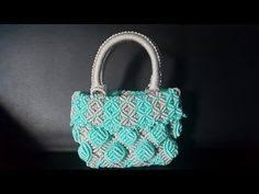 cara membuat tas tali kur sisik ikan full making tutorial of macrame bag with bubble pattern youtube