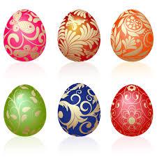 easter eggs vector u2013 happy easter 2017