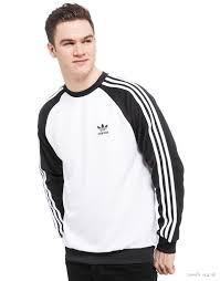 adidas originals trefoil crew sweatshirt men u0027s sweatshirts best