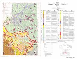 Calgary Map Soil Survey Of The Calgary Urban Perimeter Published 1987