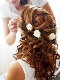 Hochsteckfrisurenen Halboffen Locken by 22 Besten Frisuren Bilder Auf Frisur Hochzeit Lange