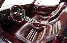 1992 Corvette Interior 1980 Chevrolet Corvette Interior Seats Corvette And Camaro