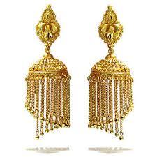 big jhumka gold earrings rabbi gold plated dhoom arya big jhumka earrings high quality ebay