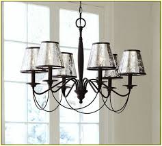 Mercury Glass Home Decor Classy Mercury Glass Chandelier In Interior Home Inspiration With