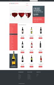Kosher Champagne Website Template 48650 Wine Store Production Custom Website