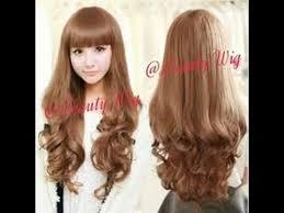 Catokan Rambut Sosis 15 variasi untuk model rambut panjang keriting gantung