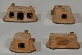 Pueblo Adobe Houses by Southwest Indian Pottery Contemporary Jemez Pueblo Potter