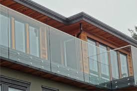 Frameless Glass Handrail Frameless Glass Railings Contemporary Patio Vancouver By