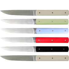 coloured kitchen knives set perceval 888 888 knife mixed colours set 6 tableware from
