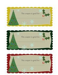 christmas gift coupon part 23 christmas gift coupons for kids