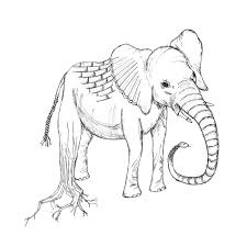 Blind Men And The Elephant Poem Illustration By Allison Scoles At Coroflot Com