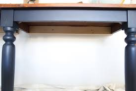 repurposed kitchen table wall mounted desks orc week 3 bless