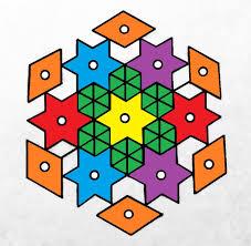star rangoli designs u2022 art platter