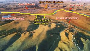 Standing Rock Reservation Map Standing Rock Aerial Map Of Three Camps Mark Morey