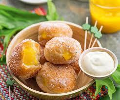 cuisiner la papaye recette de beignets mangue papaye et crème coco