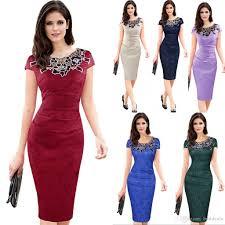 buy cheap work dresses for big save 2017 vintage elegant women