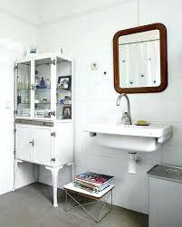 vintage metal medicine cabinet vintage bathroom medicine cabinet installing a commodore medicine