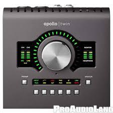 Universal Audio Apollo Twin Mkii Quad Thunderbolt Recording Studio
