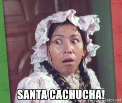 India Maria Memes - santa cachucha la india maria suprised meme generator